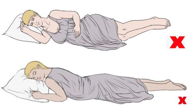 Các tư thế ngủ mẹ bầu nên tránh để không gây hại đến thai nhi