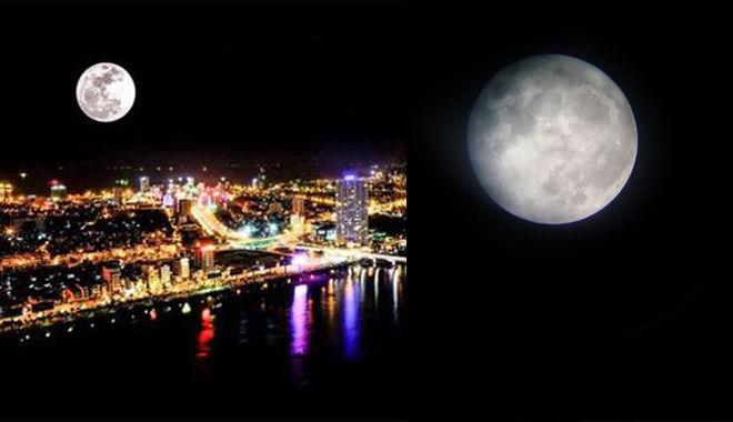 Ngay tối nay Việt Nam sẽ đón siêu trăng đầu tiên và duy nhất trong năm 2017