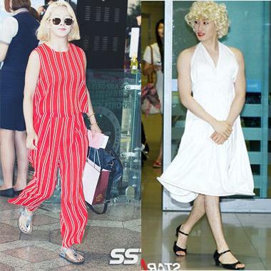 """Đến fan ruột cũng muốn """"độn thổ"""" trước gu thời trang """"siêu dị"""" này của sao Hàn"""