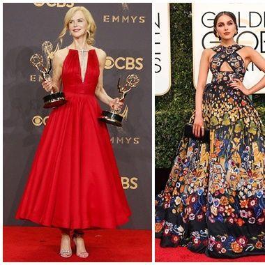Top những mỹ nhân diện trang phục lộng lẫy và hot nhất thảm đỏ Hollywood