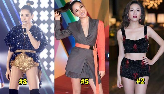 Xếp hạng top 10 nữ ca sĩ nhảy đẹp nhất showbiz Việt hiện nay
