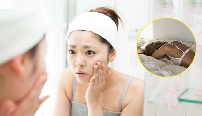 Tốn tiền đủ kiểu để giữ gìn làn da mà ít ai biết chính những thói quen khi ngủ lại khiến da chảy xệ