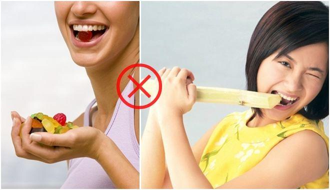 Muốn răng trắng hết ố vàng nhất định phải bỏ ngay 7 thói quen này