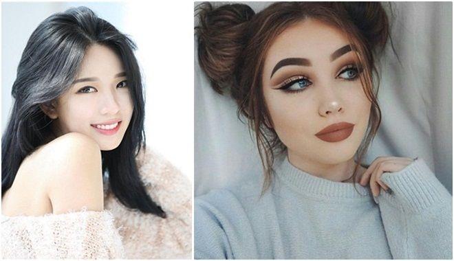 Khác biệt thú vị giữa chuẩn mực nhan sắc của phụ nữ Châu Á và Châu Âu