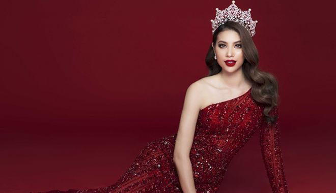 Ngắm nhìn bộ ảnh cuối cùng trong vai trò Đương kim Hoa hậu Hoàn vũ Việt Nam 2017 của Phạm Hương