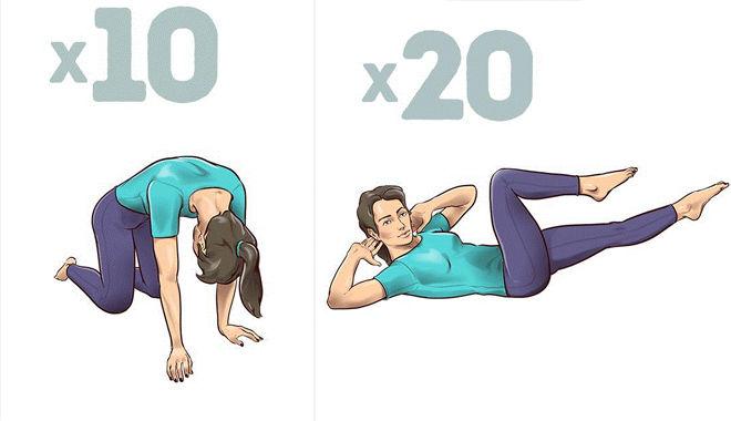 Chỉ cần dành 1 phút mỗi ngày thực hiện bài tập này, bạn sẽ không còn bị đau lưng nữa