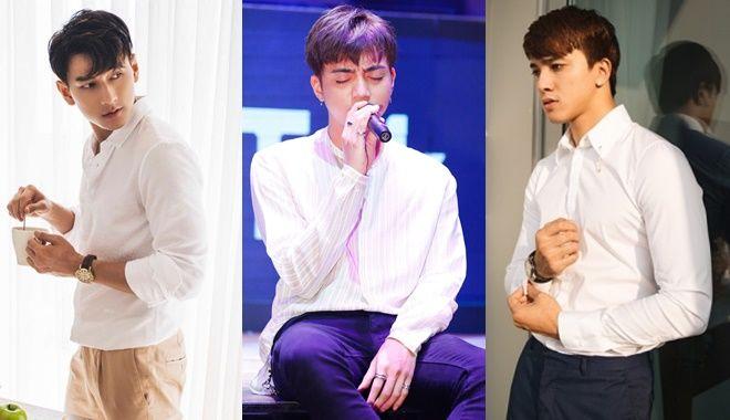 """Ai mới là """"nam thần"""" sơ-mi trắng của showbiz Việt """"đốn tim"""" fan girl chỉ bằng một cái """"nháy mắt"""""""