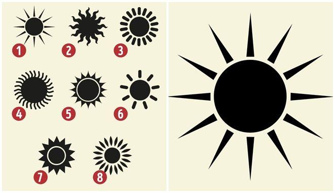 Trắc nghiệm: Cách vẽ mặt trời nói lên tính cách con người thật của bạn
