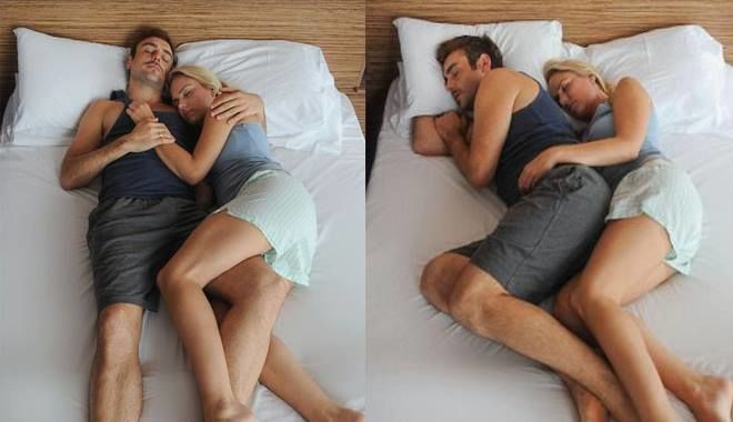 Tư thế ngủ nói lên điều gì về mối quan hệ của hai bạn?