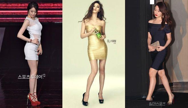 Muốn khẳng định mình đúng chuẩn eo thon dáng đẹp thì nhất định phải học idol Hàn mặc kiểu váy này