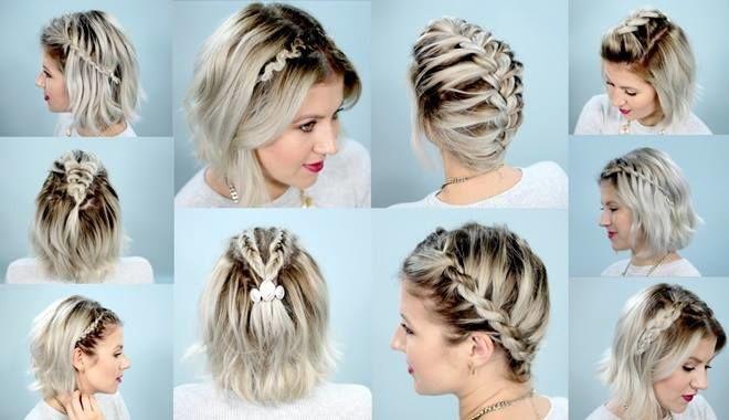 Những kiểu tóc tết đáng yêu dành cho cô nàng tóc ngắn
