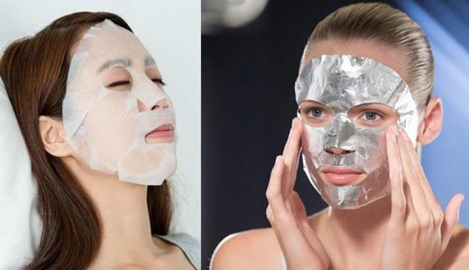 Thêm những sai lầm khi đắp mặt nạ giấy khiến da mặt ngày càng xấu đi