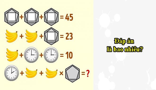 Giải mã được hết những câu đố siêu hóc búa này bạn sở hữu tố chất thiên tài đấy