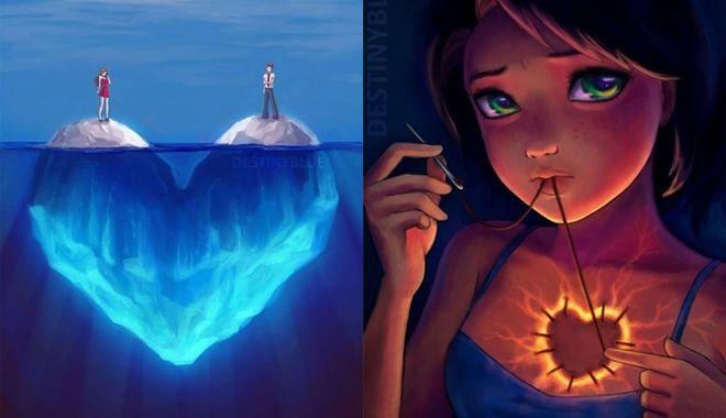 Bộ ảnh lột tả sự thật trần trụi của các cô gái, mạnh mẽ là vậy nhưng khi đau cũng đau lắm!