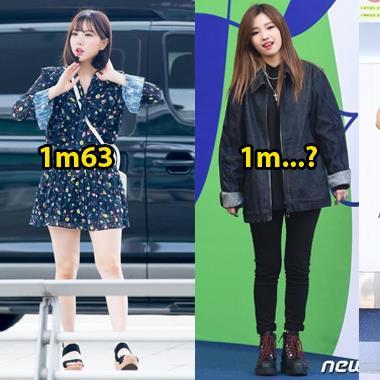 """""""Điểm mặt"""" các thành viên """"thấp bé nhẹ cân"""" nhất trong các girlgroup đang hot ở Kpop"""