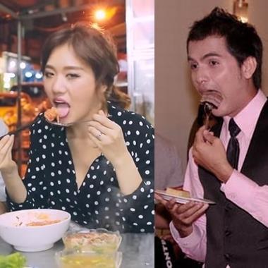 Chẳng riêng gì Hari Won, còn đầy sao Việt thả ga ăn uống mà đâu cần giữ hình ảnh thumbnail
