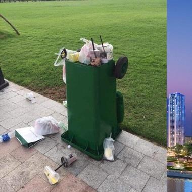 Số phận bi đát của các toà nhà chọc trời tại Việt Nam: nhếch nhác vì khách tham quan vô ý thức