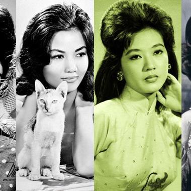 """7 """"tượng đài"""" nhan sắc Việt kinh điển vang bóng một thời khiến triệu ánh mắt luôn xao xuyến"""