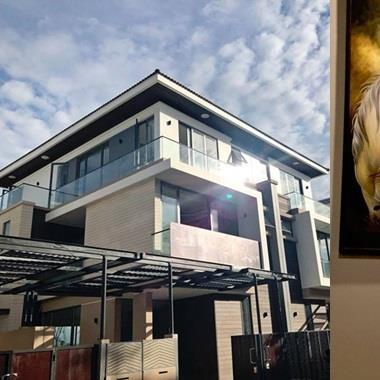 Cận cảnh căn villa triệu đô sang trọng ở ven sông của nam ca sĩ Cao Thái Sơn