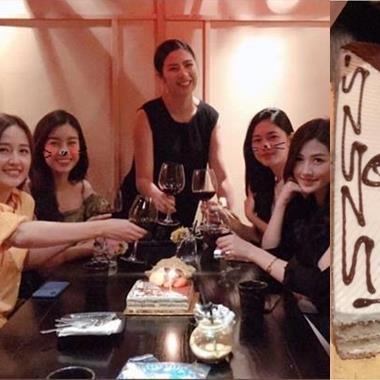 Dàn người đẹp toàn Hoa hậu, Á hậu tổ chức tiệc chúc mừng sinh nhật Mai Phương Thúy