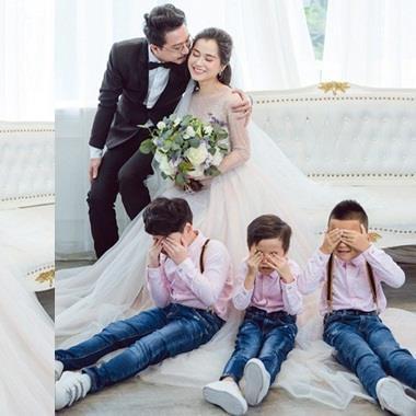 Kỷ niệm 8 năm ngày cưới, Lâm Vỹ Dạ tung bộ ảnh xinh như cô dâu