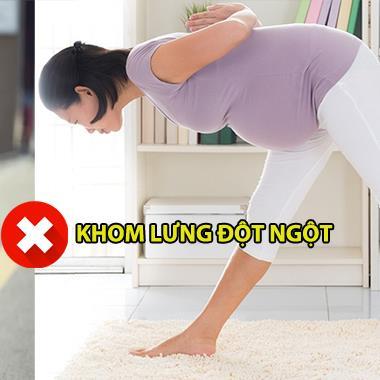 Những hoạt động thường ngày dễ gây ảnh hưởng đến thai nhi mẹ bầu nên hết sức cẩn thận