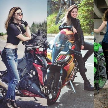 """Những nữ biker 9x xinh đẹp làm """"chao đảo"""" cộng đồng mạng Việt"""