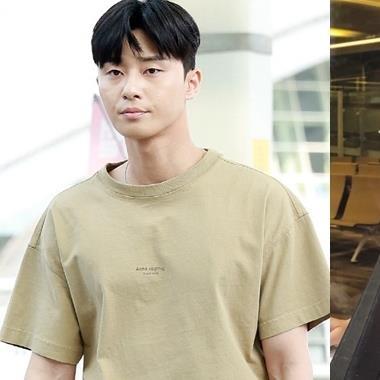 """""""Nhọ"""" như Park Seo Joon và Park Min Young đi du lịch cùng đoàn làm phim cũng bị netizen Hàn mỉa mai"""