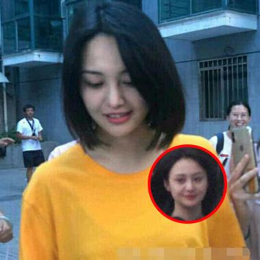 Hậu ảnh thân thiết bạn trai mới, Trịnh Sảng lộ diện với mặt tròn xoe khiến fan tan chảy