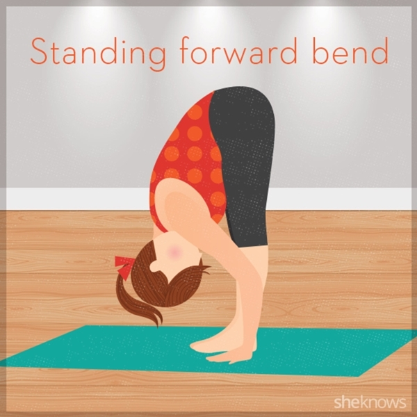 Bestie standing forward bend