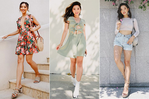4 co nang fashion blogger goc A co hang trieu luot theo doi tren mang xa hoi