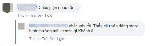 Đôi bạn thân số 1 showbiz Việt Duy Khánh – Miu Lê cạch mặt nhau?