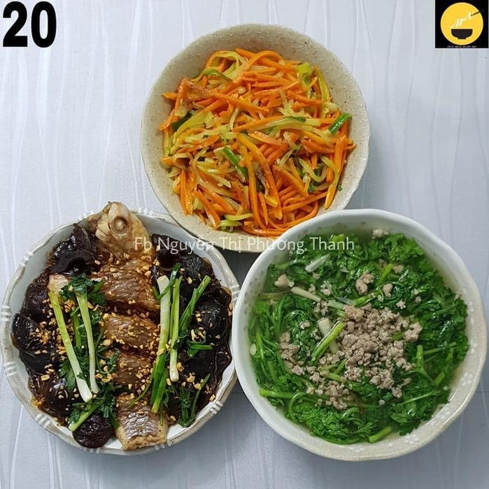 Không cần hỏi tối nay ăn gì vì đã có thực đơn siêu ngon 30 ngày