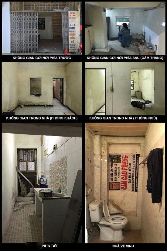 Nhà tập thể xập xệ lột xác thành phòng khách sạn cao cấp sau khi sửa