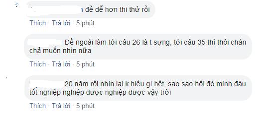 Phản ứng trái chiều của cộng đồng mạng về môn Toán THPT Quốc gia 2019