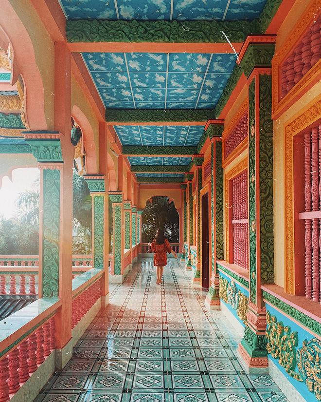 Xuôi về miền Tây checkin mỏi tay với nhiều ngôi chùa đẹp xuất sắc