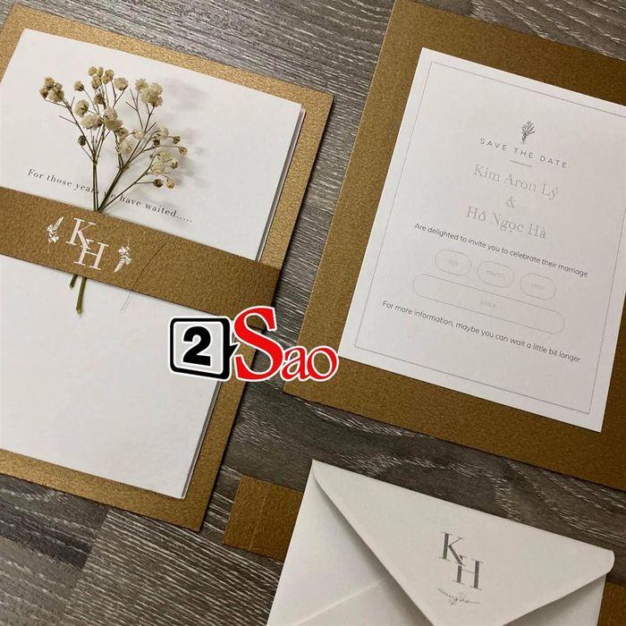 CĐM ôn xao trước hình thiệp cưới của Hồ Ngọc Hà và Kim Lý