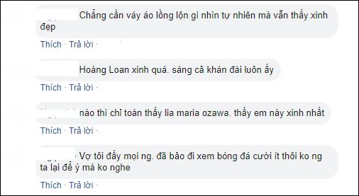 Hoàng Thị Loan của bóng đá nữ Việt Nam gây sốt trên khán đài