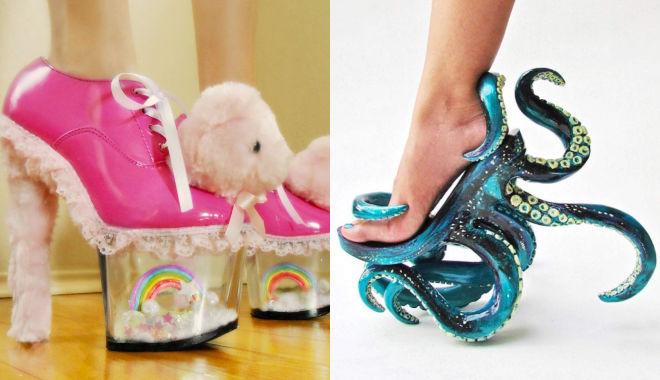 Dép hình cá, giày selfie và những đôi giày có 1-0-2 trên thế giới