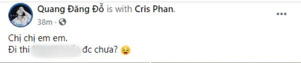 Hậu đóng MV Thái Trinh, Cris Phan xuất hiện cùng Quang Đăng