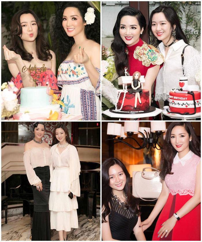 Ái nữ Hoa hậu Đền Hùng tái xuất gây sốt trong đêm tiệc Giáng sinh