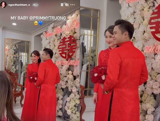 Hé lộ hình ảnh trong đám cưới của Phan Thành - Primmy Trương