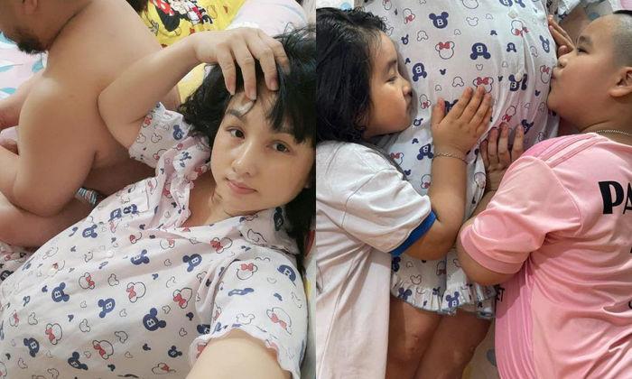Vợ chồng sao Việt thích đông con: Hiếu Hiền muốn có 5 con
