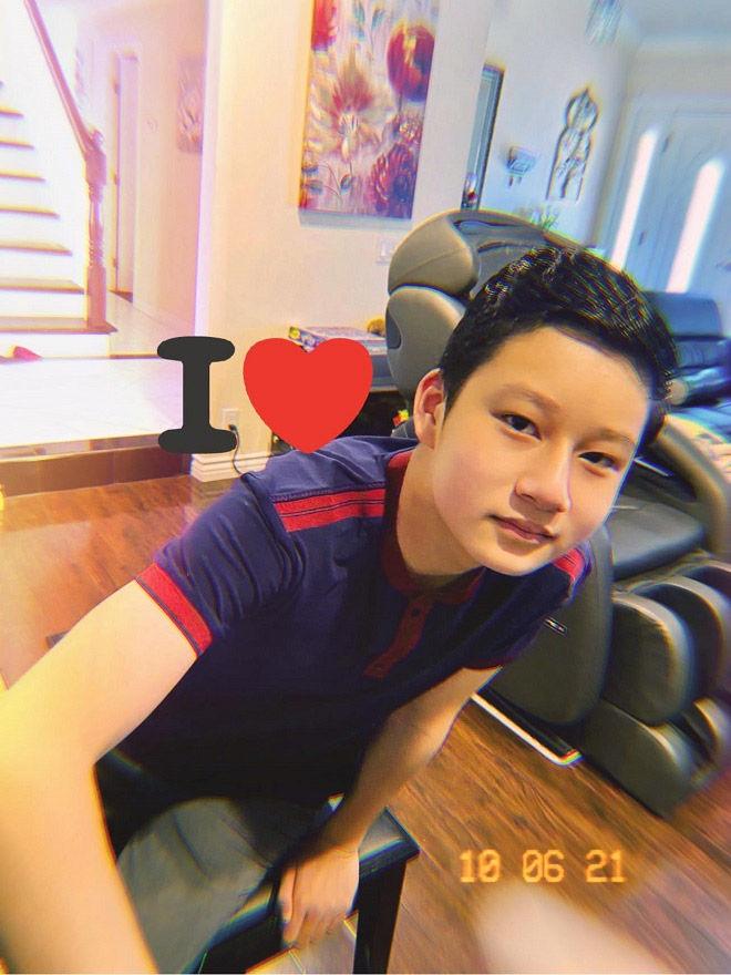 Con trai ca sĩ Quang Dũng tuổi 13: cao 1m72, đẹp trai hơn bố